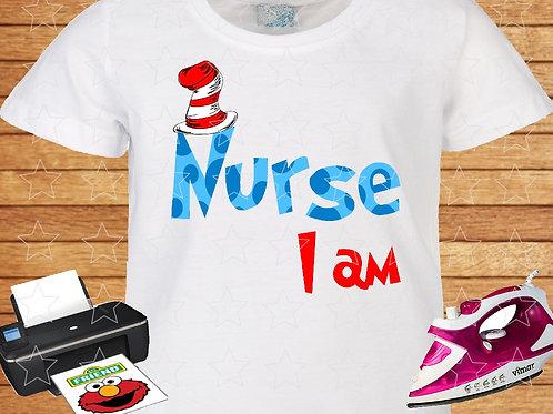 Nurse I am printable