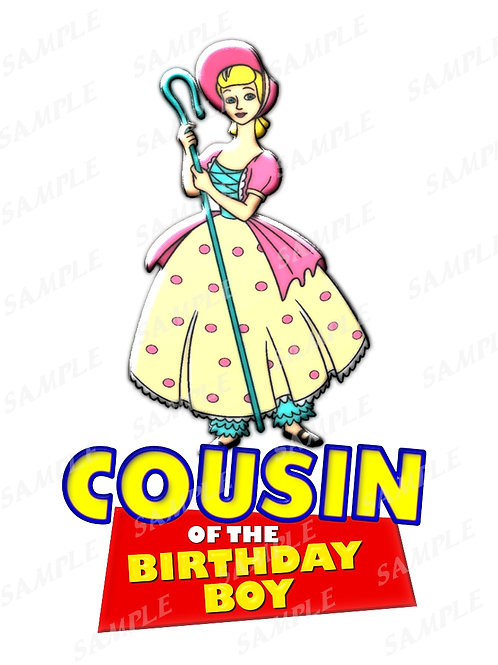 Digital file JPG, PNG for birthday shirt, iron on transfer, Instant Download 309