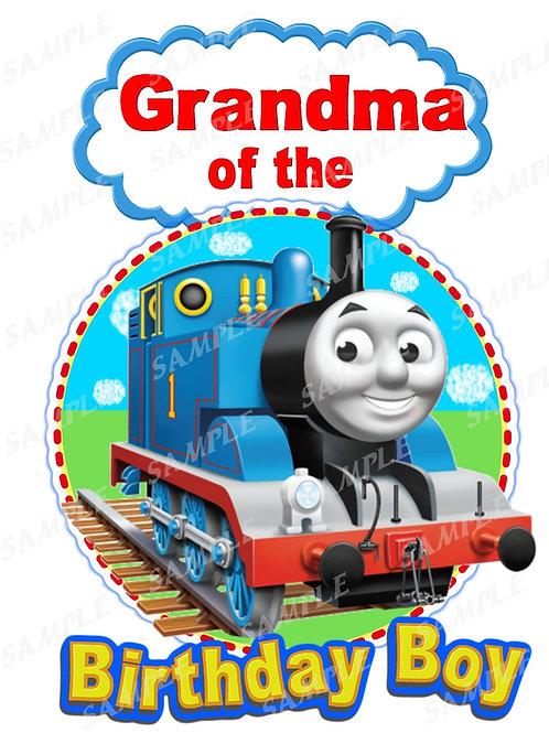 Thomas the Tank Engine birthday shirt