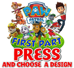 paw patrol iron on transfer custom name birthday shirt heat transfer family shirts birthday boy birthday girl chase skye marshall rubble rocky zuma everest ryder birthday party printable mommy daddy outfit diy png jpg jpeg svg picture image free