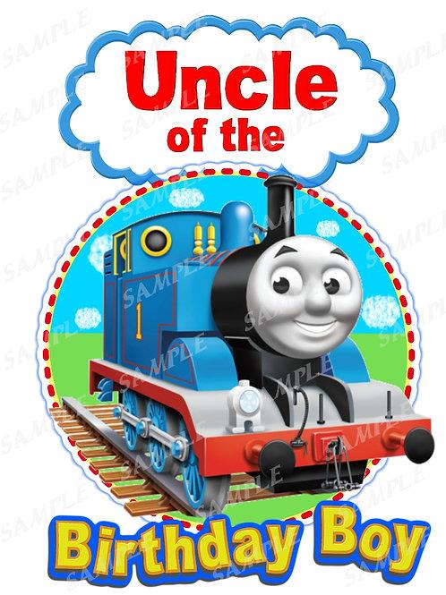 Thomas the Tank Engine iron on transfer uncle