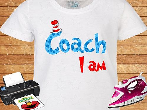 Dr. Seuss Coach I am