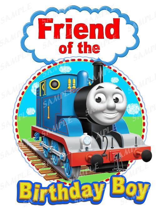 Thomas the Tank Engine iron on