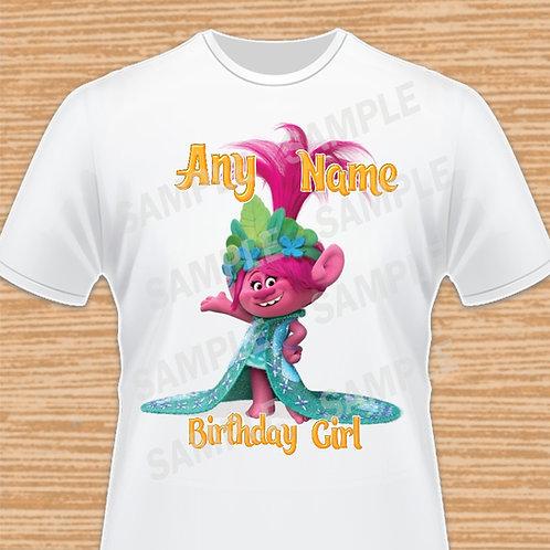 trolls poppy birthday girl outfit, Trolls Birthday, Trolls Any Name