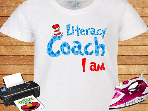 Literacy Coach I Am instant download