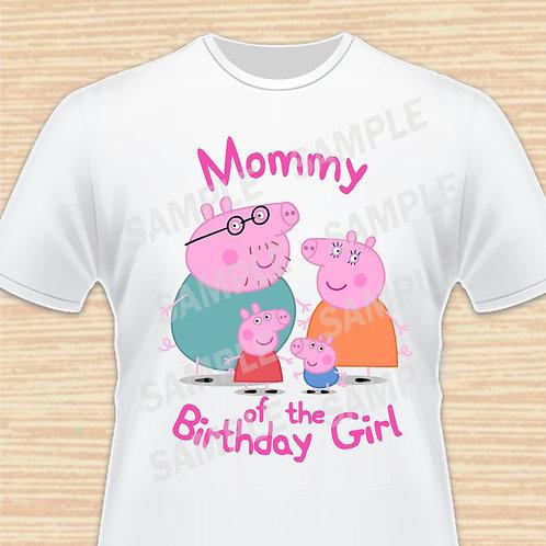Peppa Pig birthday shirt Mommy