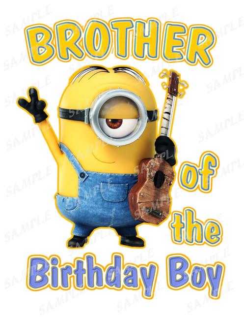 Minions Birthday ShirtMinions Brother Of The Birthday BoyMinionsqzj