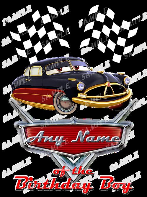 Disney Cars Birthday Shirt. McQueen Cars Iron on transfer. Printable 11