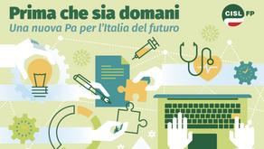 PRIMA CHE SIA DOMANI. UNA NUOVA PA PER L'ITALIA DEL FUTURO