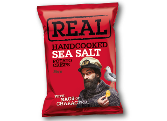 Chips au Sel de Mer - Real - 35g (x24)