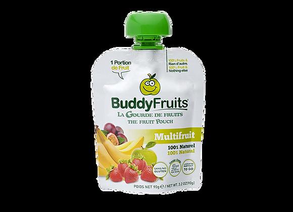 Compote Multifruits - BuddyFruits - 90g (x18)