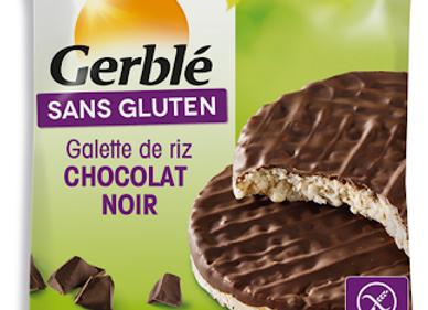 Galette de Riz Chocolat Noir - Gerblé - 33g (x28)