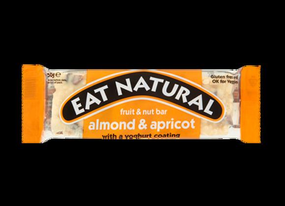 Barres Céréales Abricots Amandes et Yaourt Blanc - Eat Natural - 50g (x12)