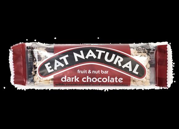 Barres Céréales Chocolat Noir - Eat Natural - 50g (x12)