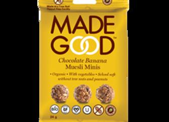 Granola Banane Chocolat - Made Good - 24g (x12))
