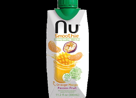 Smoothie Orange Mangue - NU Smoothie - 33cl (x12)