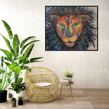 King of the Jungle ° 48 x 36 inches $550