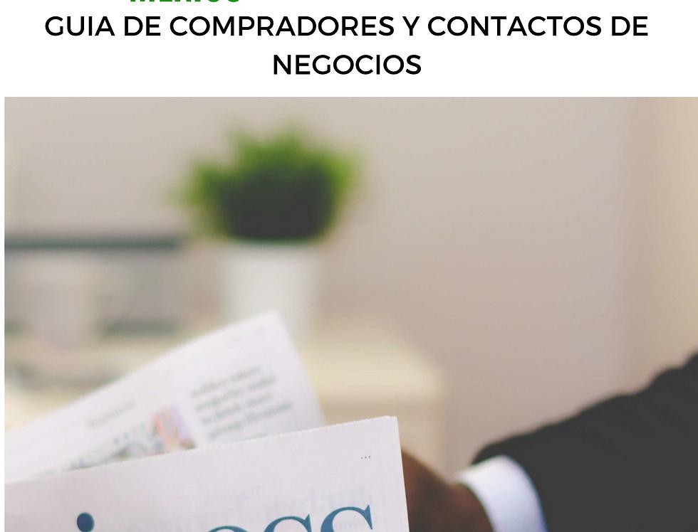 Guía de Compradores y Contactos de negocios
