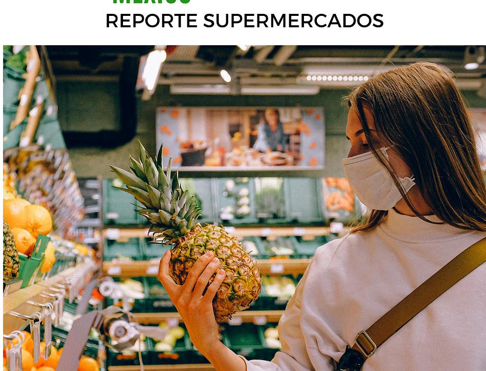 Reporte  de Supermercados
