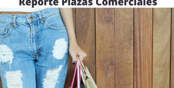 Reporte Plazas Comerciales JALISCO