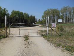 Secured Entrance Gate