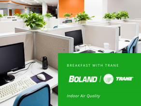 Breakfast with Trane: Indoor Air Quality (IAQ) On Demand