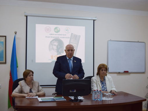 Scientific symposium dedicated to the 125th anniversary of the correspondent member of Academy of Sc
