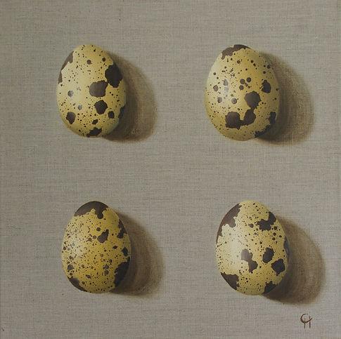 Four Quails Eggs Catherine Henchie.jpg