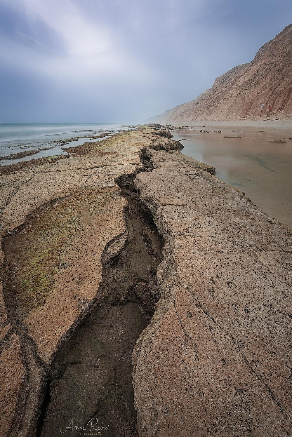 Gaash Beach, Israel חוף געש שמורת חוף השרון