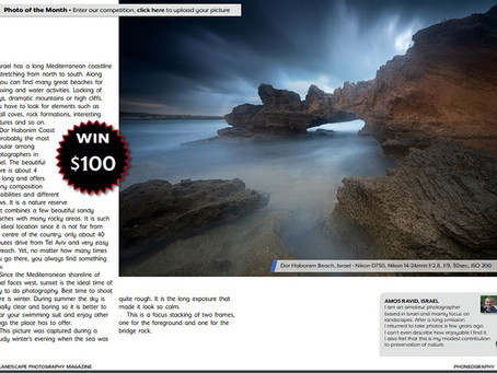 Photo of the month - Landscape Photography Magazine