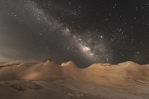 Milky Way Over Egypt