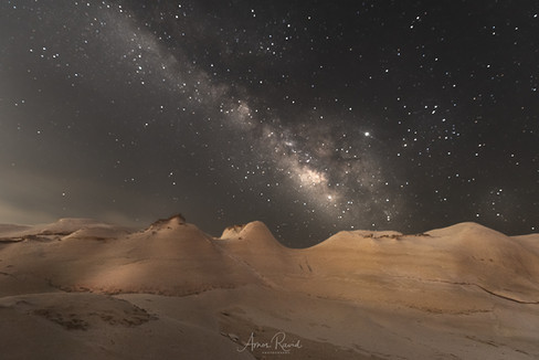 Milky Way Over Egypt