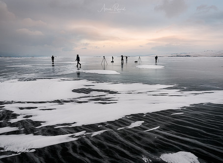 Walking On Water – winter photography on Lake Baikal