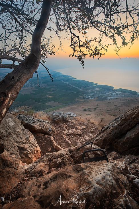 Sunrise Over Sea Of Galille