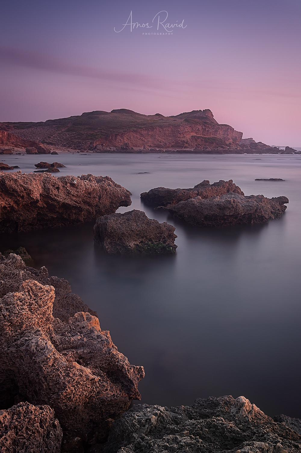 Okfa beach, Israel חוף אולגה שמורת חוף גדור