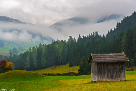 Somewhere in the Dolomites