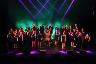 Vocalocity in the 'Diamond Theatre'