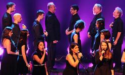 Vocalocity tenors, bases and sopranos