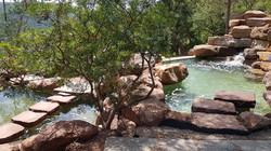 bassin et cascade