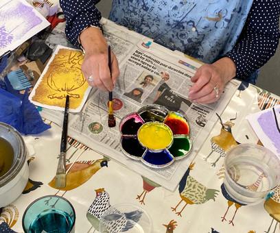 Jenny O'Leary workshop
