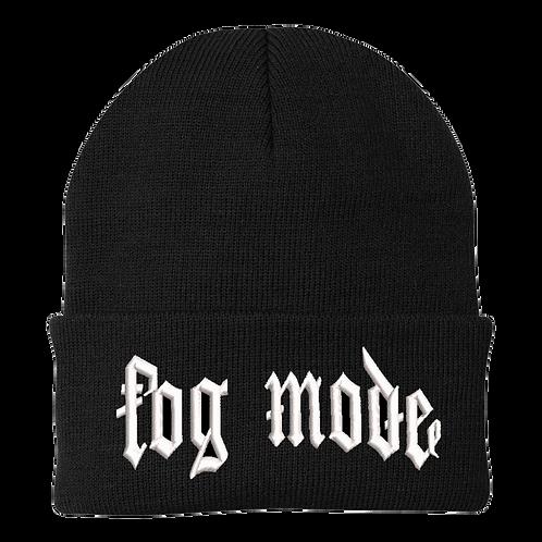 Fog Mode Embroidered Beanie