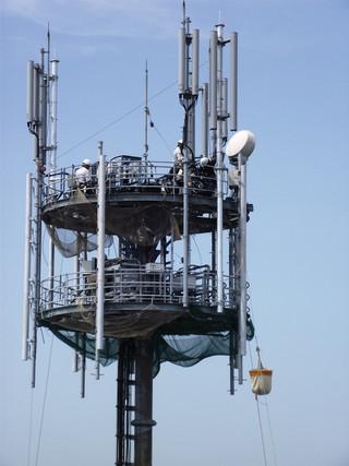 携帯電話基地局建設