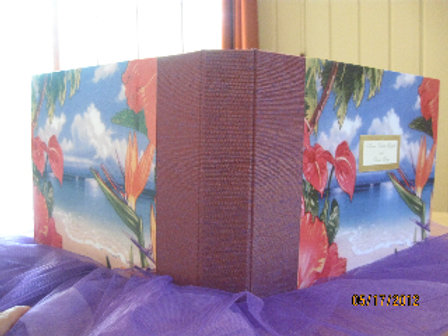 "Handmade Photo Album/Guest Book 9""x12"""