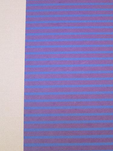 Art Portfolio Purple with Pink Stripes