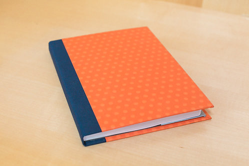 Hard Cover Journal Cover with Lined journal