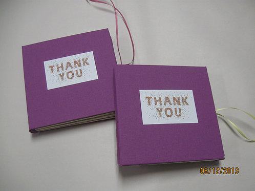 Class Portfolio to Thank Teacher