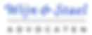 Logo Wijn & Stael Advocaten bedrijfsyoga klanten