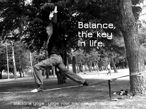 Slackline yoga les