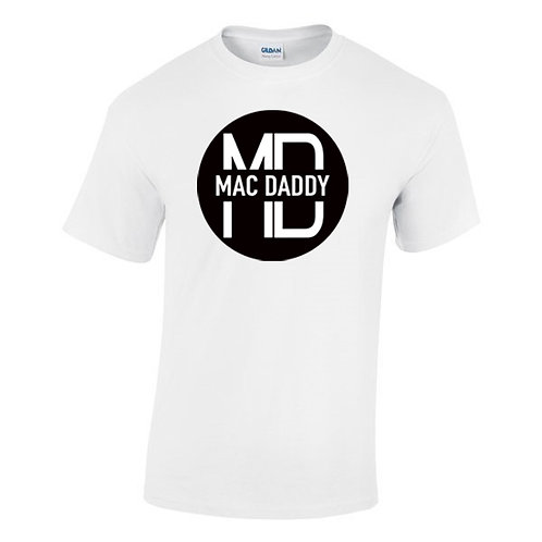 The Official Mac Daddy White T Shirt