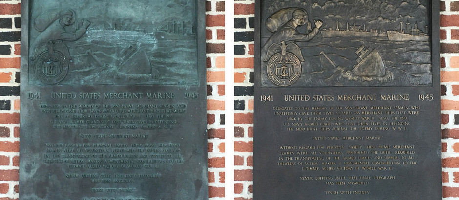 Bronze Restoration at Navy Pier
